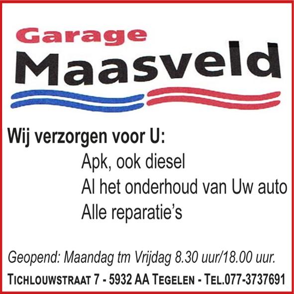 Garage Maasveld Tegelen